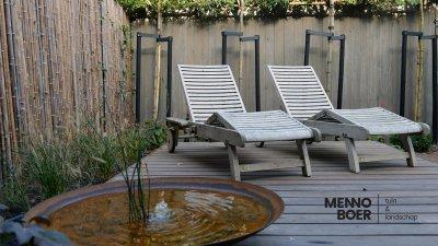 waterelement vijver tuinontwerper tuinontwerp ontwerp patio menno boer